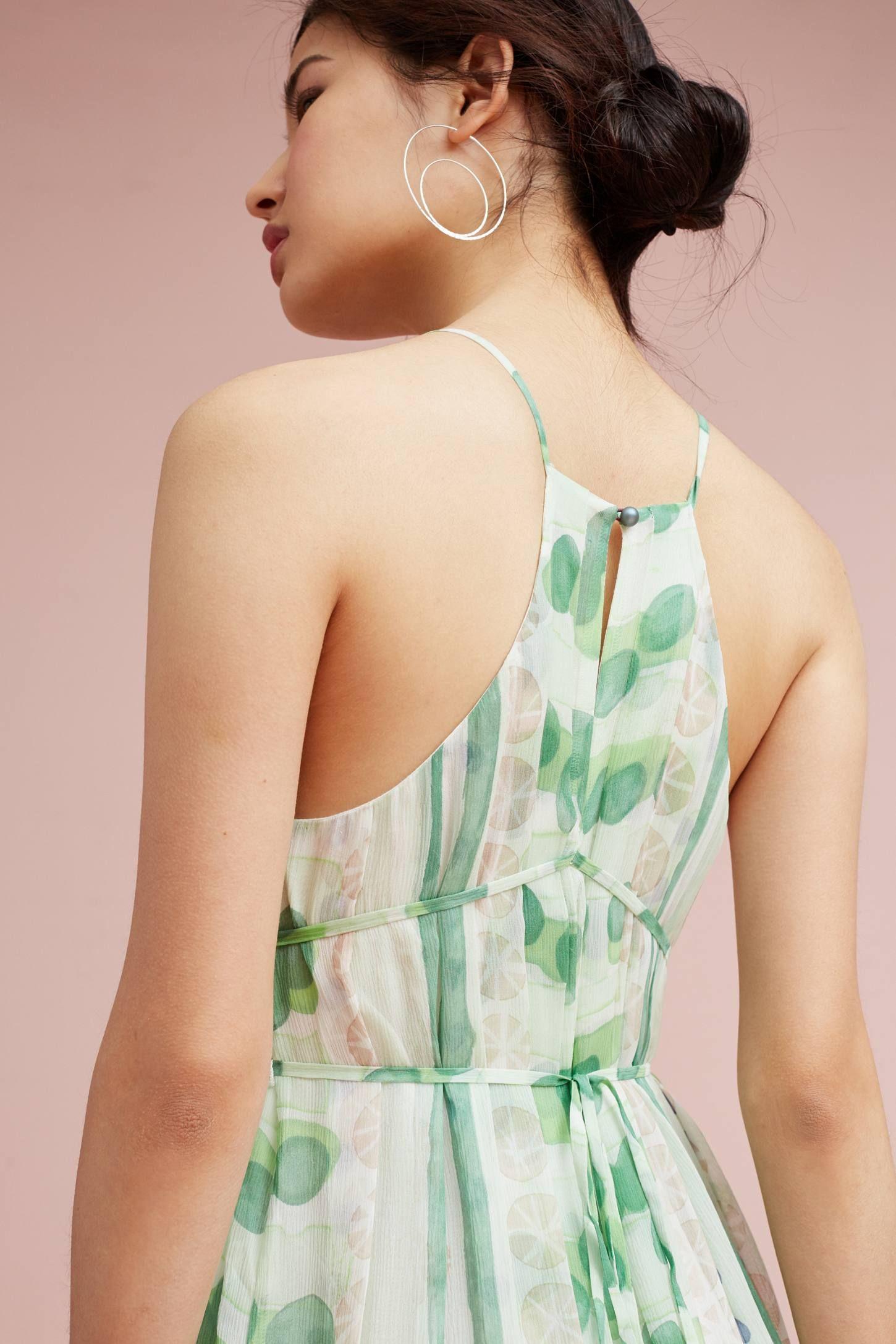 Slide View 2 Vera Silk Maxi Dress