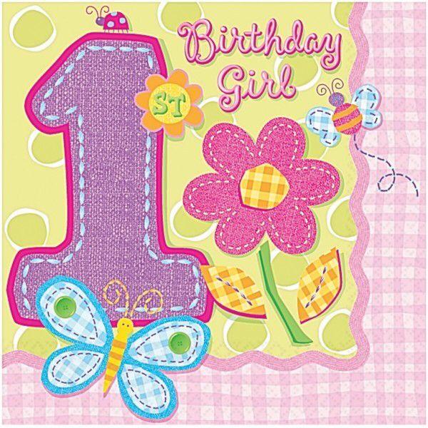 1st Birthday Girls, 1st Birthday