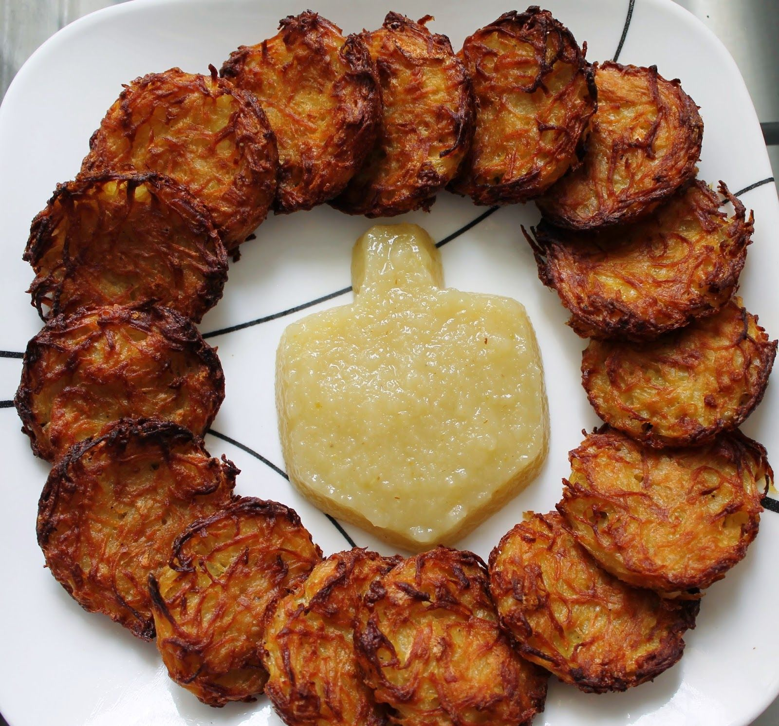 No Way That's Healthy!: Crispy Baked Potato Latkes