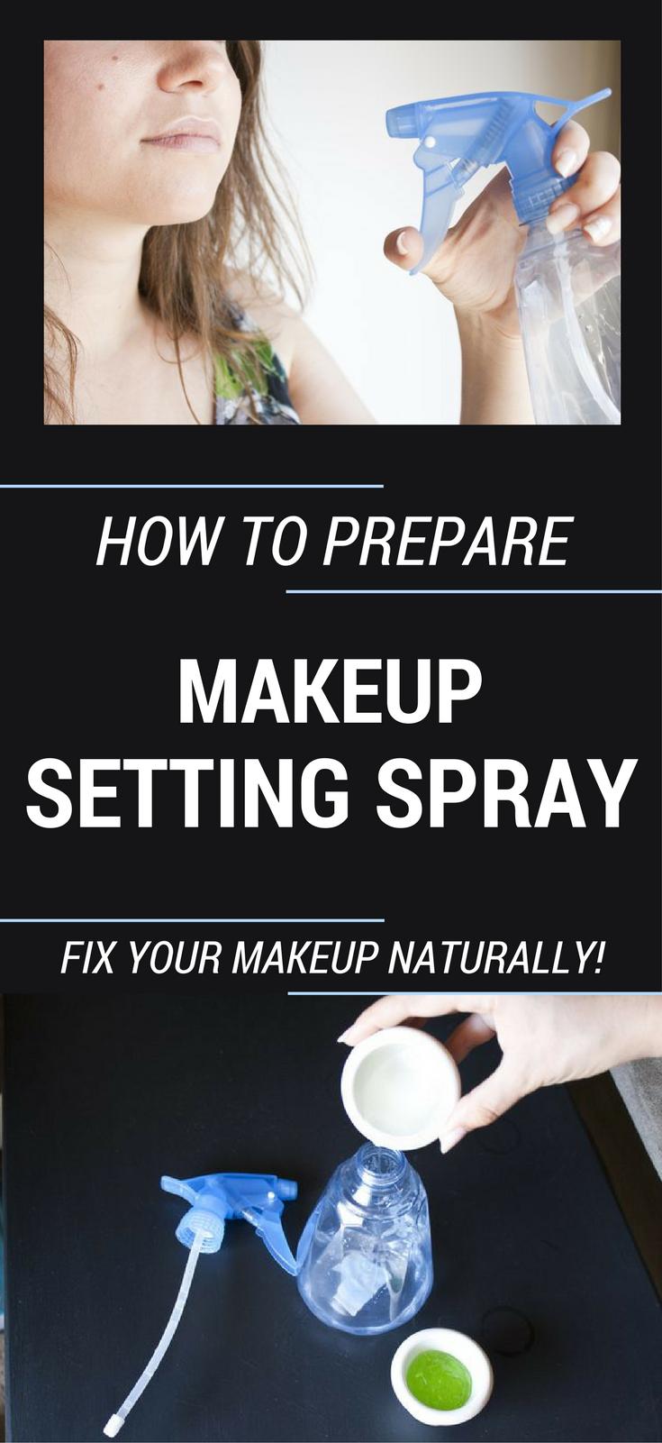 How To Prepare Makeup Setting Spray? Fix Your Makeup