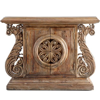Unique Entry Tables a relic of celtic times, this unique console is hand crafted from