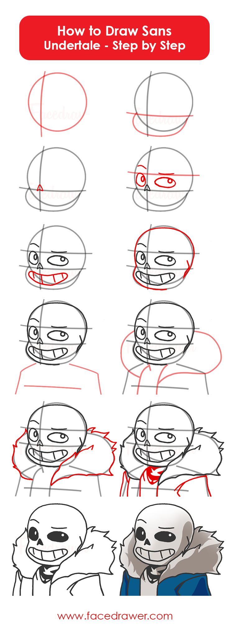 5 Astounding Exercises To Get Better At Drawing Ideas How To Draw Sans Easy Drawings Undertale