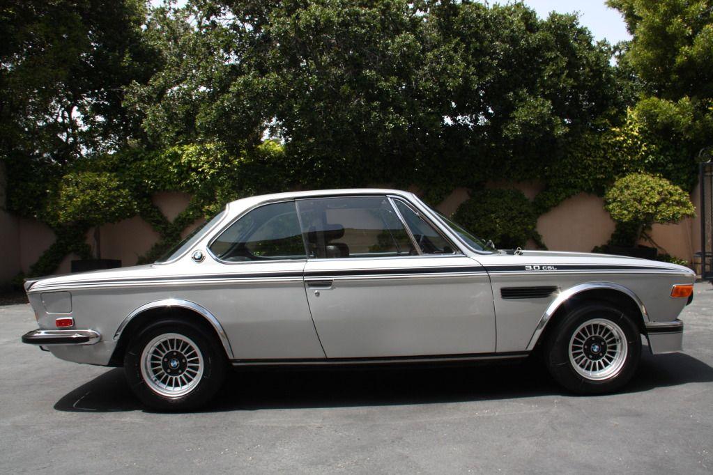 1973 BMW CSL | 1973 BMW 3.0 CSL looking fine in silver | German Cars ...