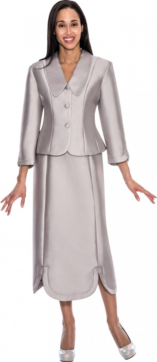 Gmi G5712 Silver Womens Church Suits In 2018 Gmi Suits 2016