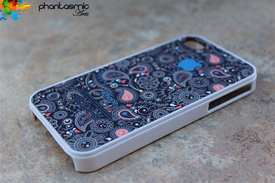 iPhone 4 case iPhone 4s case iPhone 4 cover iPhone 4s skin iPhone 4s cover iPhone 4s skin Paisley Pattern. $14.98, via Etsy.