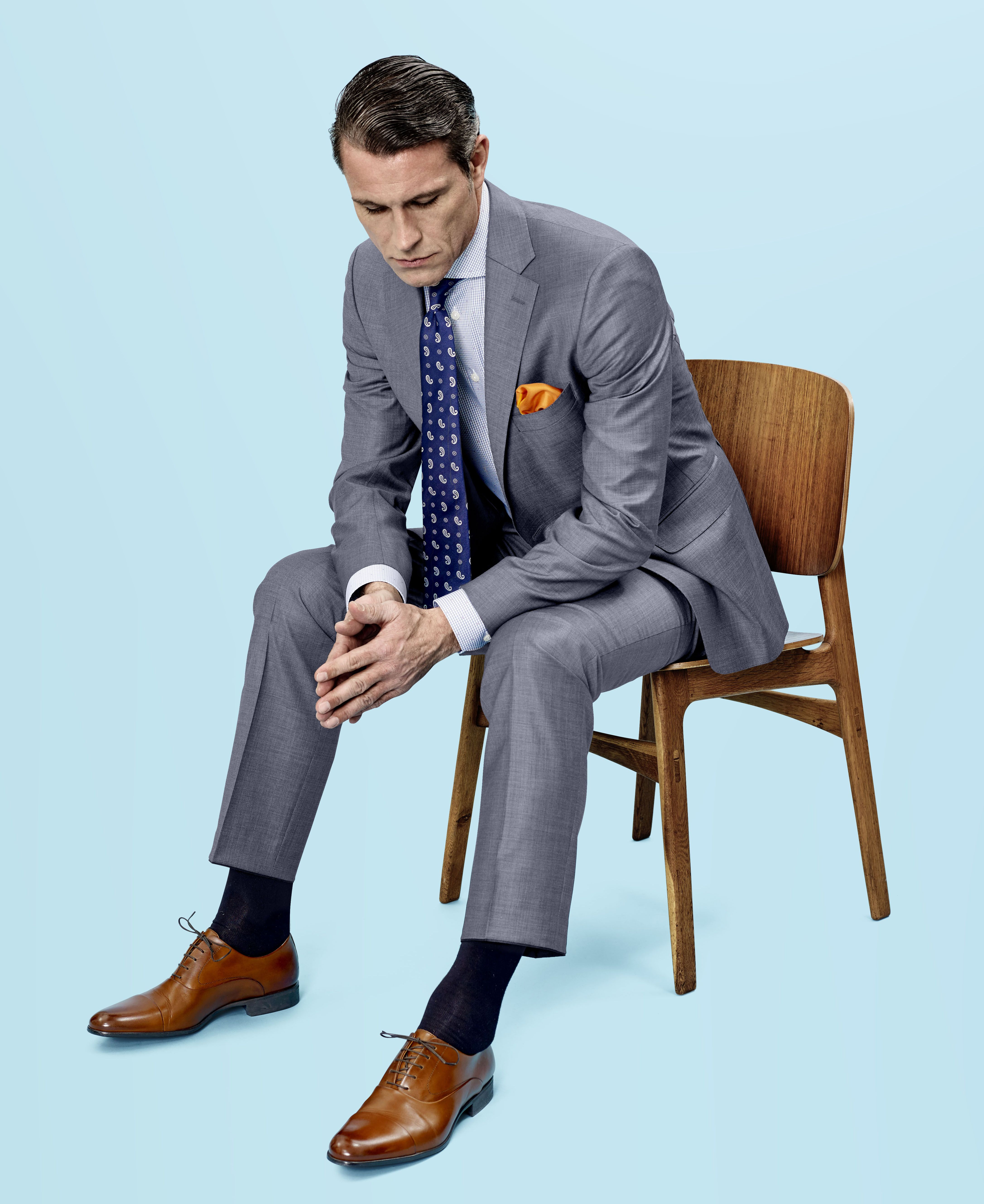 TROELSTRUP SS15. Suit from Eduard Dressler. Shirt from Eton