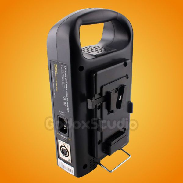 Rolux RL-2KS 2-Channel Dual Sony V-mount Li-ion BP Battery Charger Power Supply…
