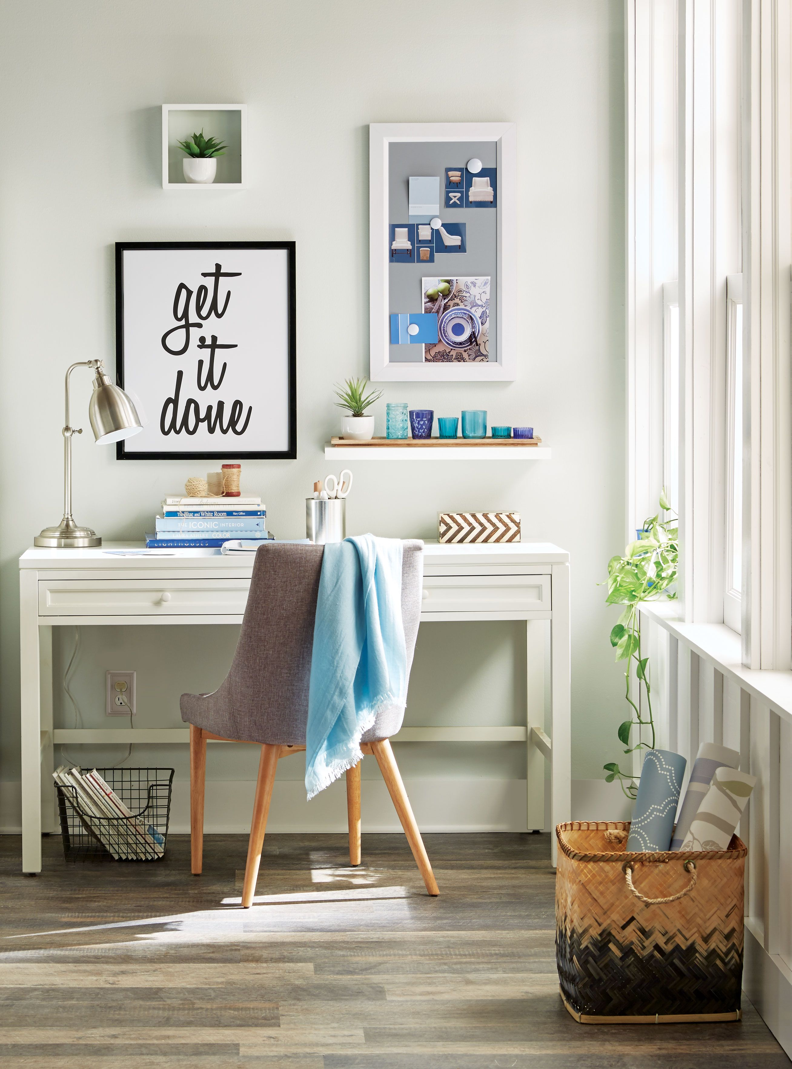 The organized and stylish crafting workspace of your dreams is ...