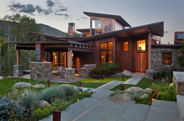 20 Asian Home Designs With A Touch Of Nature House Exterior