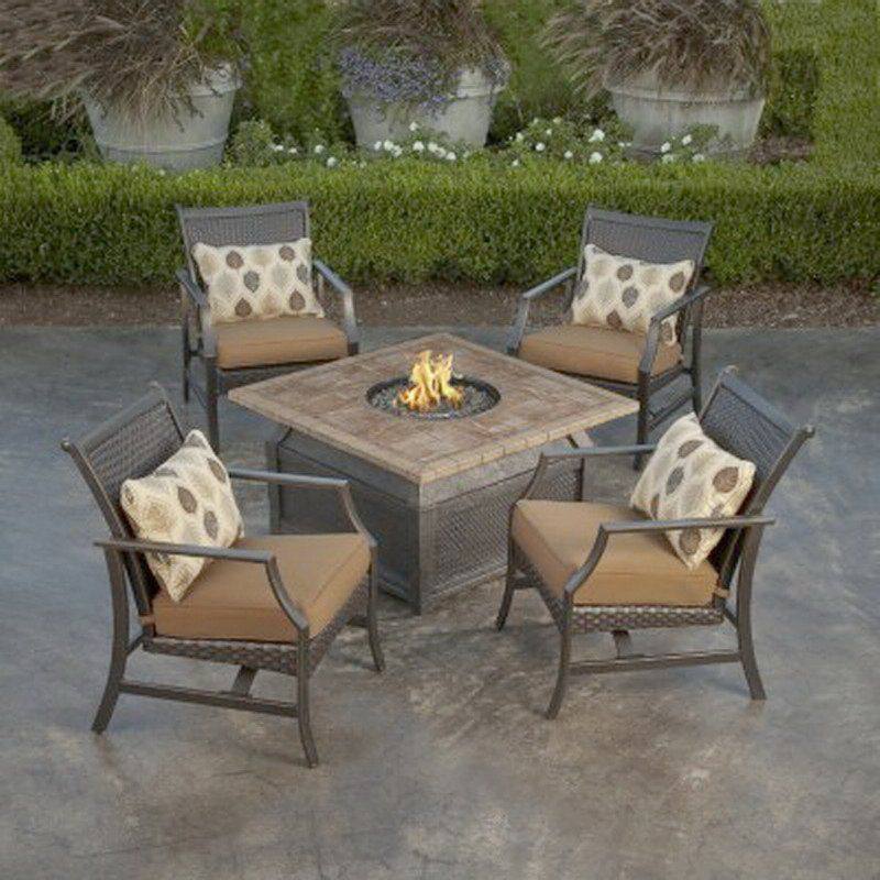Marvelous Fire Pit Furniture Set