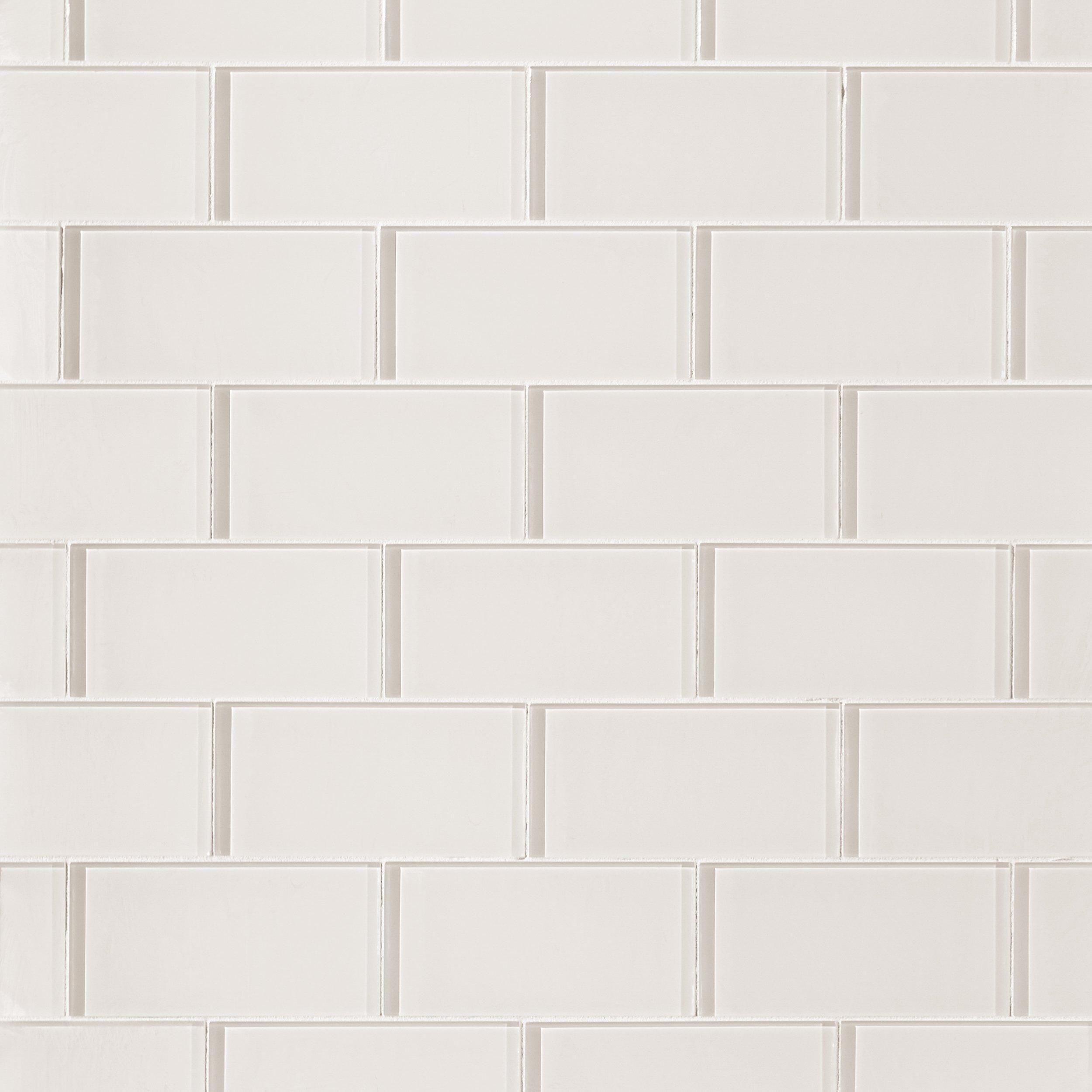 - Ivory Glass Tile Decorative Tile Backsplash, Tiles, Glass Tile