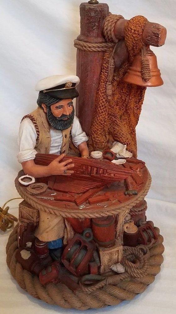Apsit Brothers Boat Builder Lamp Vintage Aspit