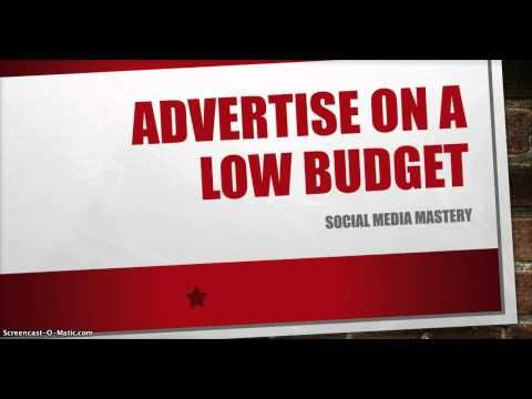 Social Media Marketing Strategy Advertise On a Low Budget [Social Media Marketing Strategy] - http://www.highpa20s.com/link-building/social-media-marketing-strategy-advertise-on-a-low-budget-social-media-marketing-strategy/