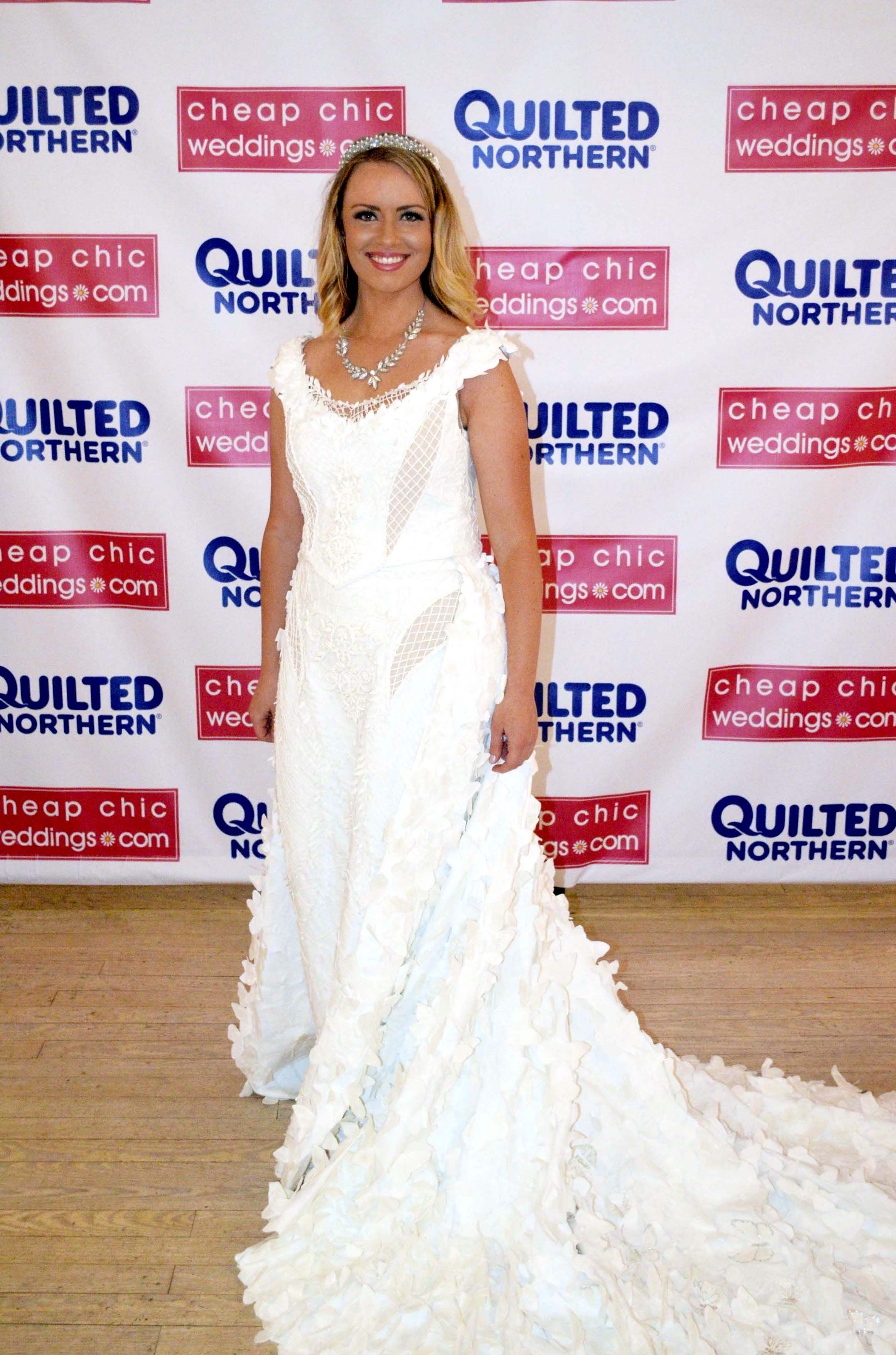 1st Place Winner Of The 2017 Toilet Paper Wedding Dress Contest Retro Wedding Dresses Toilet Paper Wedding Dress Wedding Dress Preservation