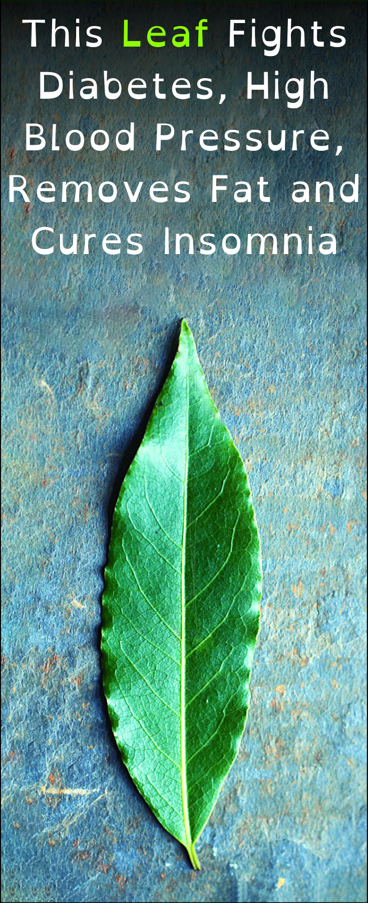 This Leaf Fights Diabetes, High Blood Pr - Health Fitness