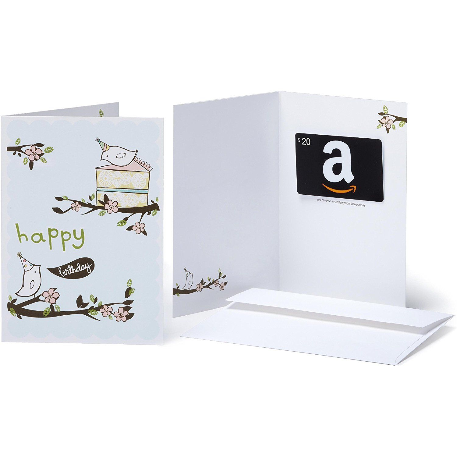 Gift card in a greeting card various designs