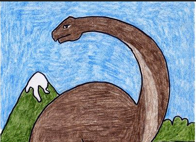 تعلم رسم ديناصور خطوة بخطوة تعلم الرسم Art Anime Prehistoric