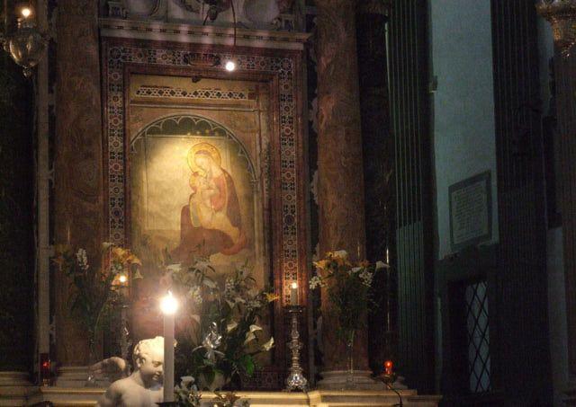 La Virgen de la Humildad es una adveraci