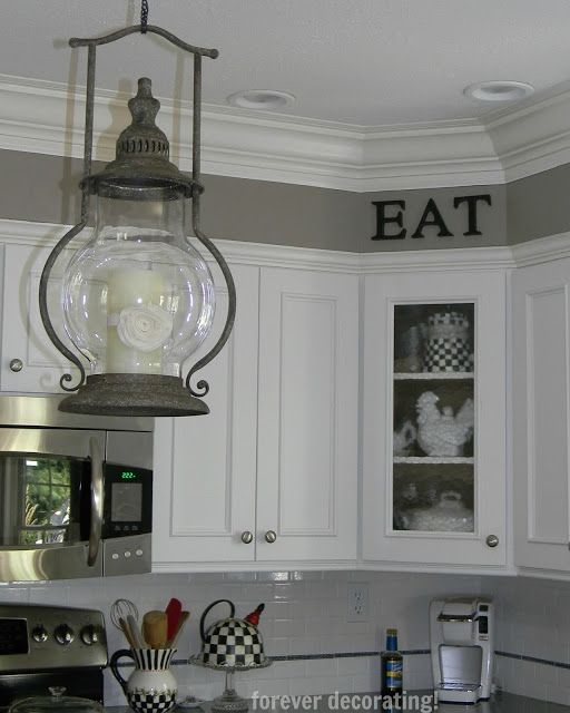 Kitchen Soffit Decor Ideas: Forever Decorating!:cute