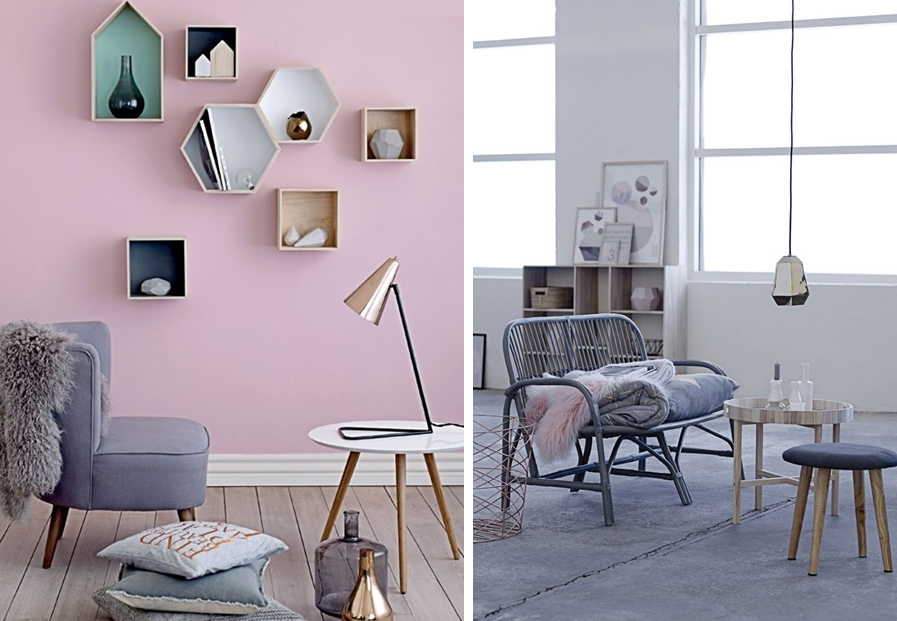 le gris dans la deco 1 so d co salon pastel int rieur pastel et pastel. Black Bedroom Furniture Sets. Home Design Ideas