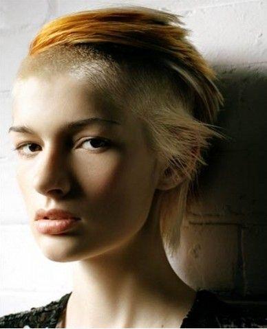 Best 25 Short Punk Hairstyles Ideas On Pinterest Short