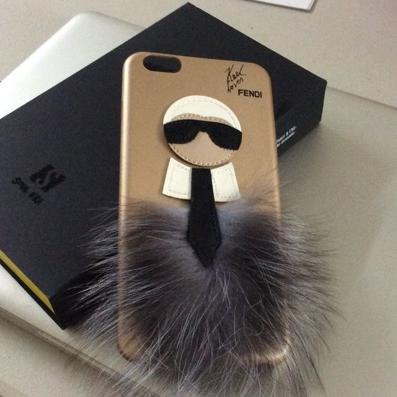 e555cc7af953 Fendi Karlito iPhone 6 Plus Case LAST ONE Fendi Karlito iPhone 6 Plus Case  FENDI Accessories Phone Cases