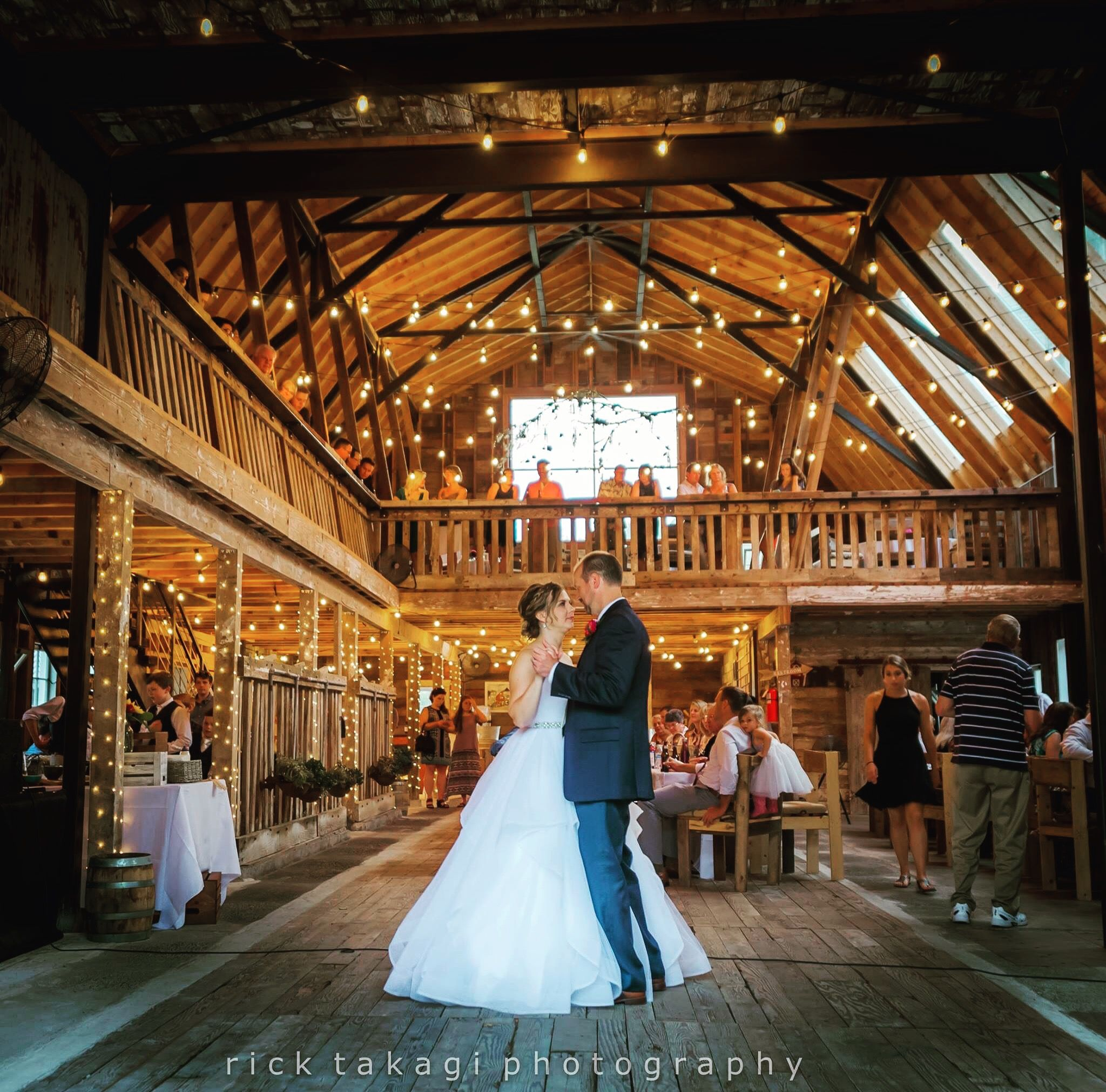 First Dance At Red Barn Farm In Redmond Wa Beautiful Wedding Venue With A Country