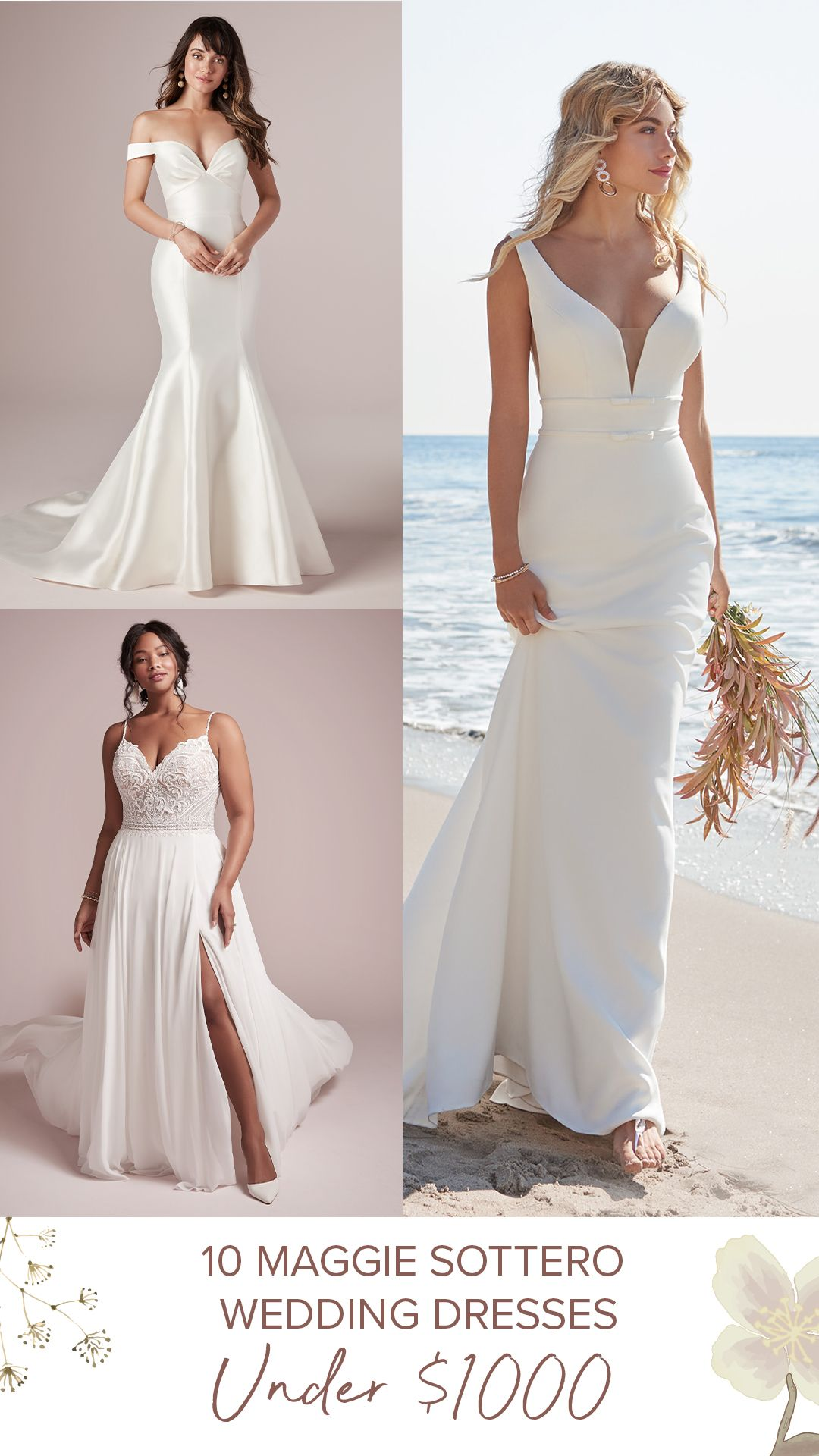 Maggie Sottero Veronica Wedding Dress Used Size 8 630 Modest Wedding Dresses Designer Wedding Dresses Elegant Wedding Dress