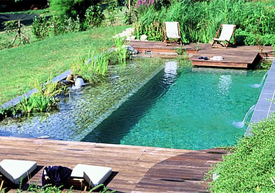 mobilier piscine design - Google Search | Pool | Swimming pool pond ...