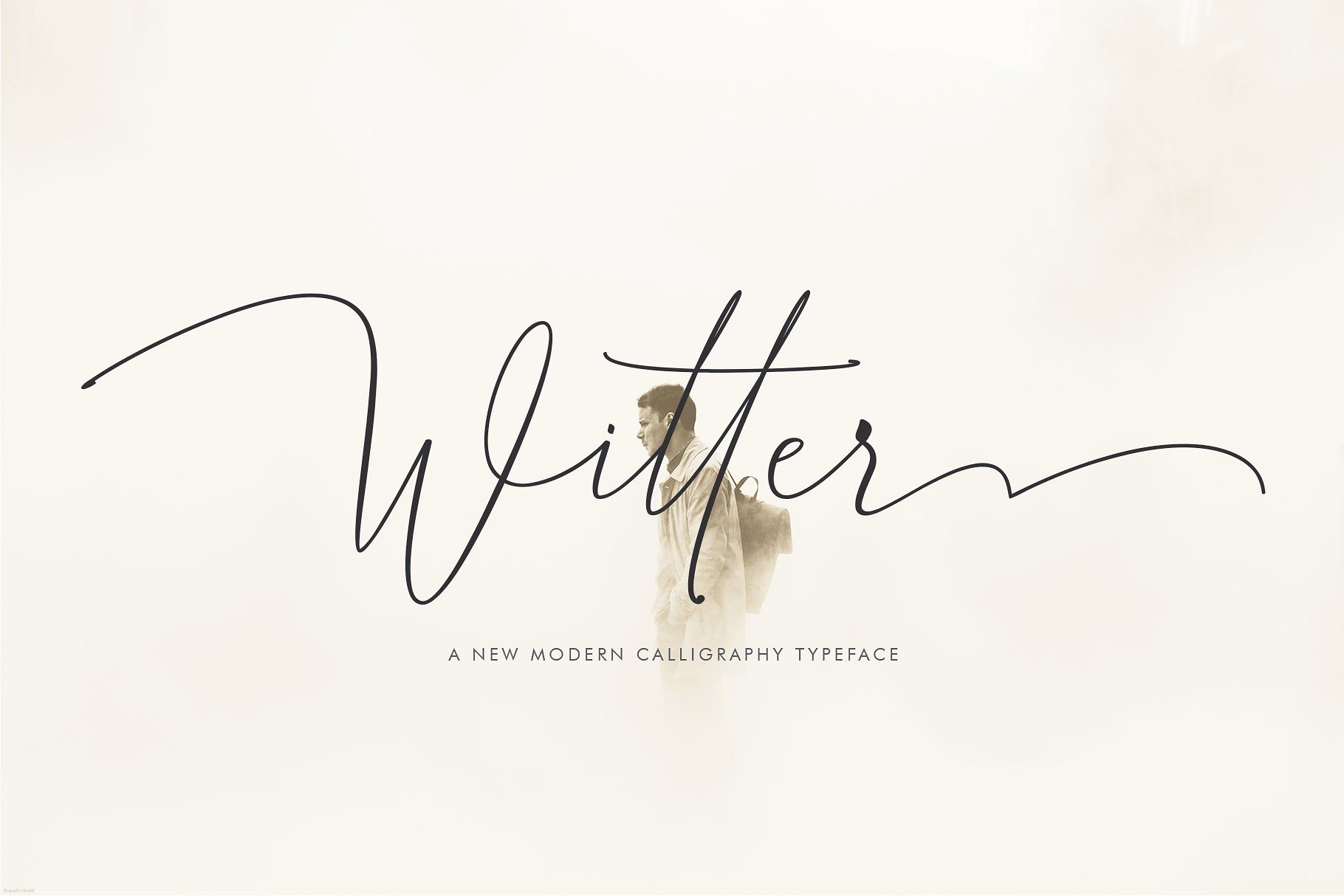 Witter Black Friday Sale Modern Calligraphy Fonts Modern Calligraphy Calligraphy Fonts