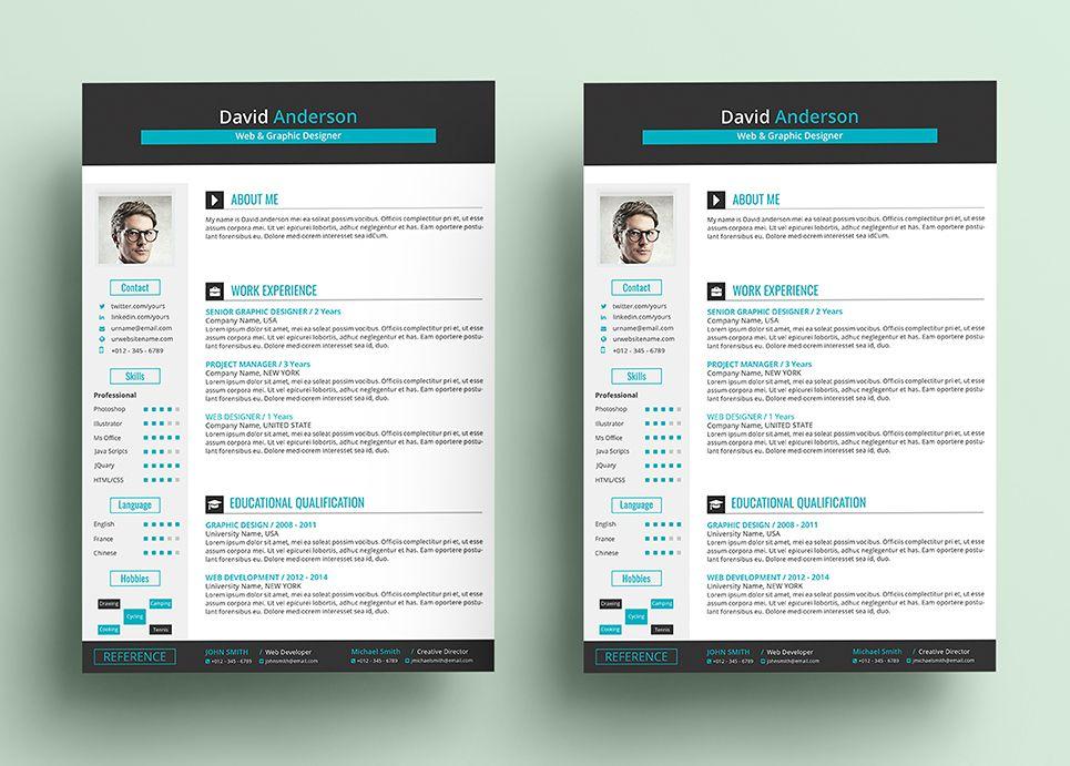 David clean cv word format resume template 67926 cv