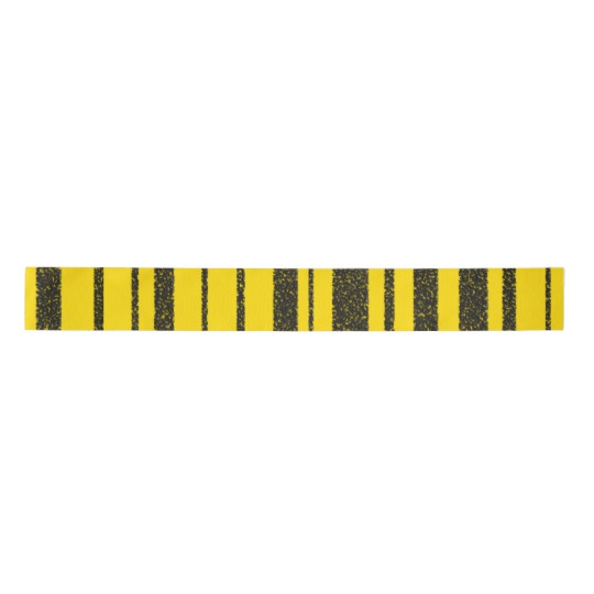 Honey Bee Inspired Black Yellow Stripes Pattern Satin Ribbon Zazzle Com Stripes Pattern Bee Inspired Yellow Stripes