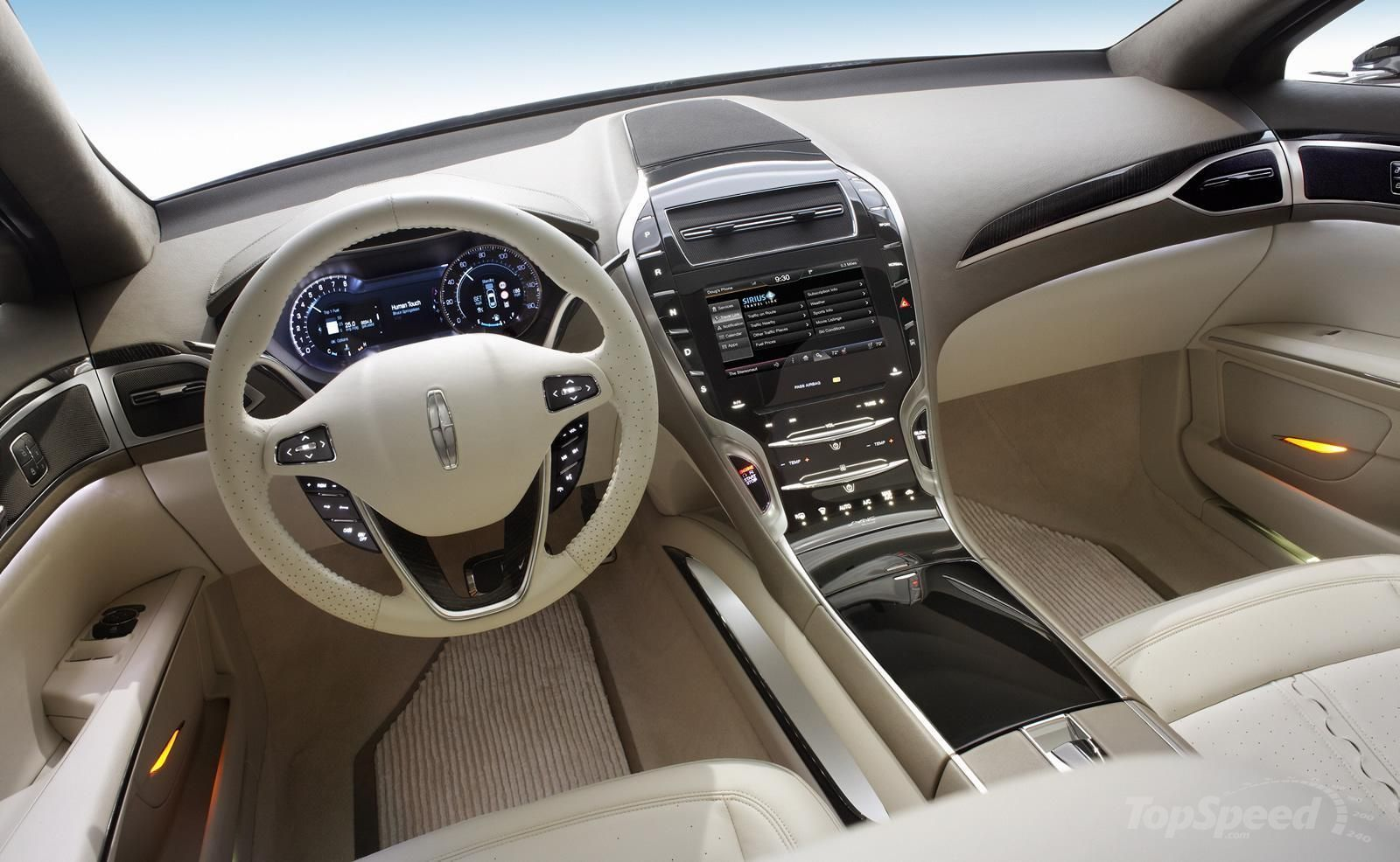 White Interior Lovely Lincoln Mkz Lincoln Mkx New Cars