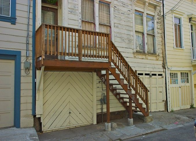 Photo of deck and stair repair