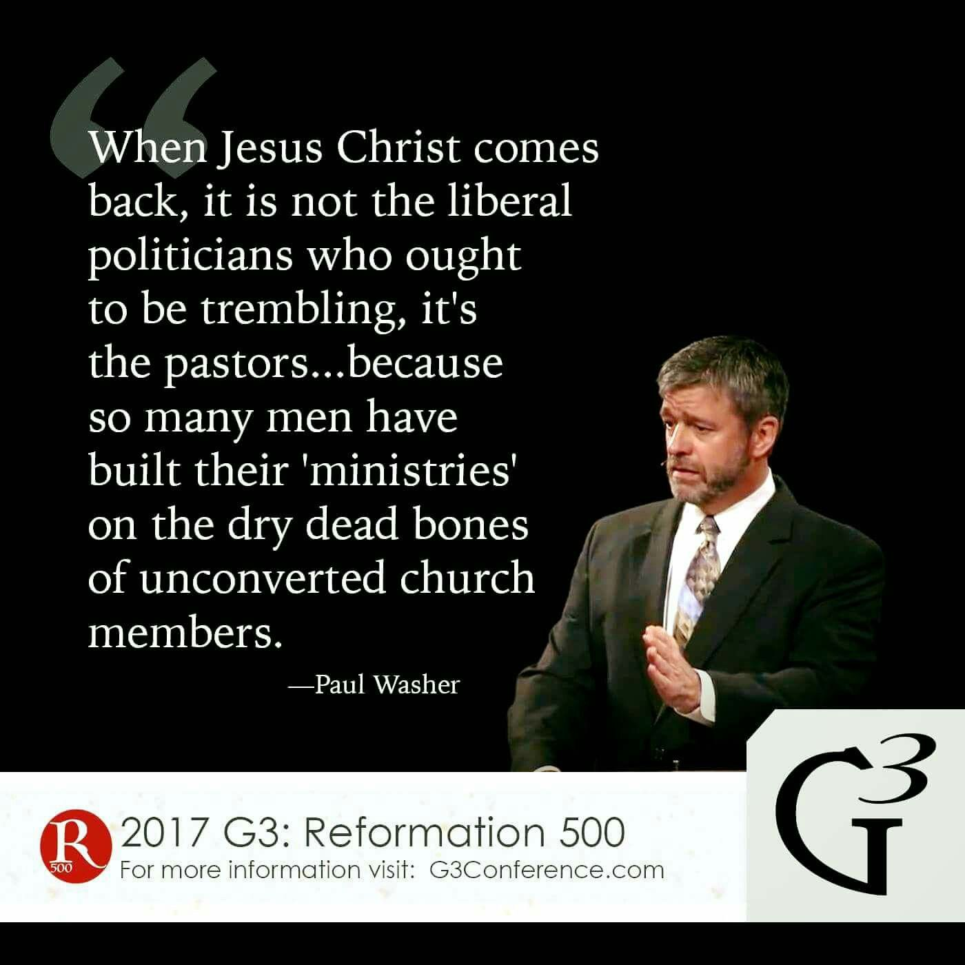 christian quotes Paul Washer quotes pastors false