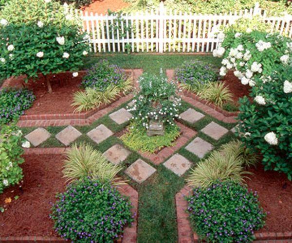 gartengestaltung leichte und mrchenhafte deko ideen im garten garten idee deko architektonisch fliesenleger - Idee Gartengestaltung