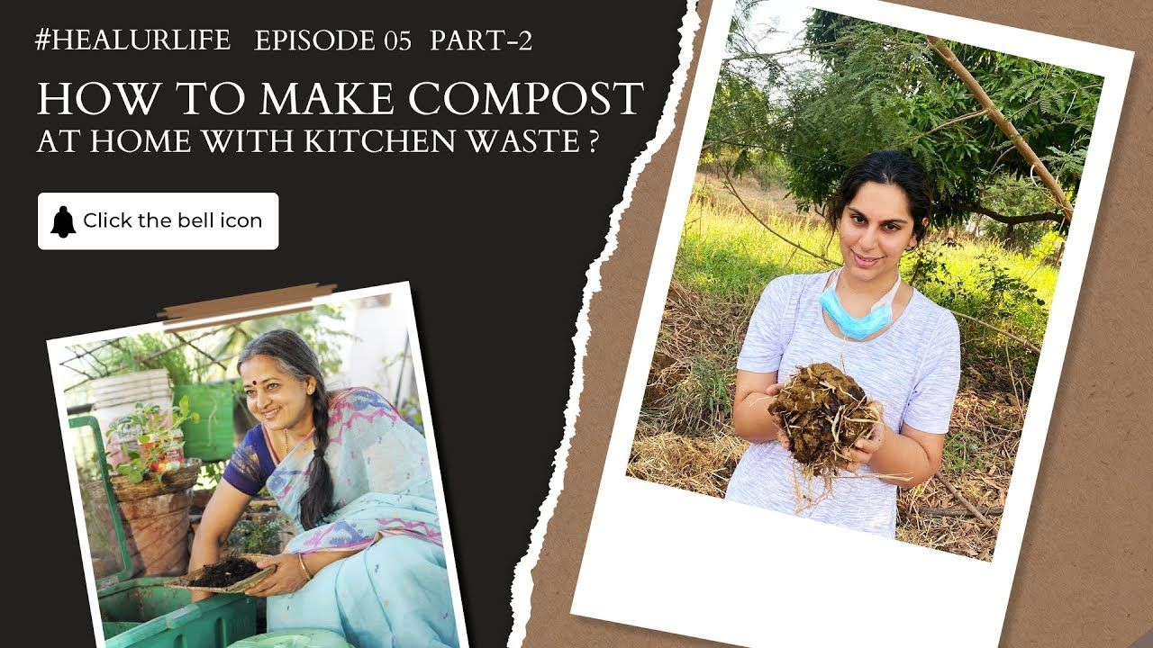 How to make compost at home with kitchen waste vani
