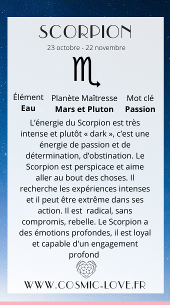 Signe Astrologique Le Scorpion Signe Astrologique Astrologie Signs