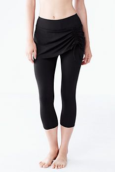 ba54e028df3ae Women's Swim Crop Legging from Lands' End >> omg swim tights are a real  thing!