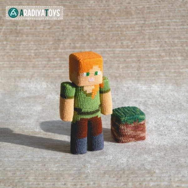 amigurumi-minecraft