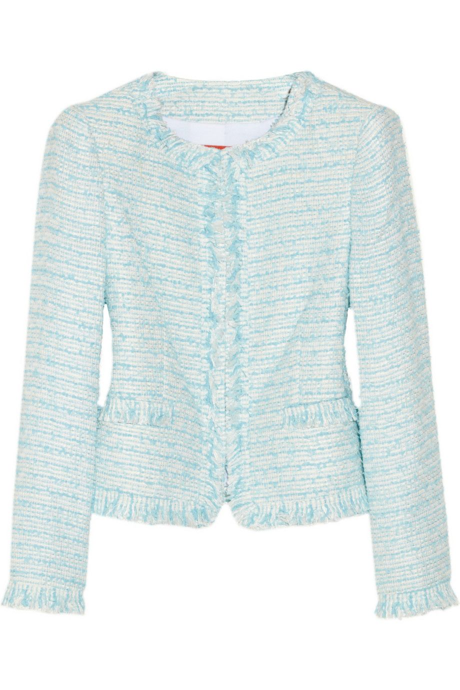 bfa7a6425 Kidman tweed jacket | Alice + Olivia | 50% off | THE OUTNET | Жакет ...