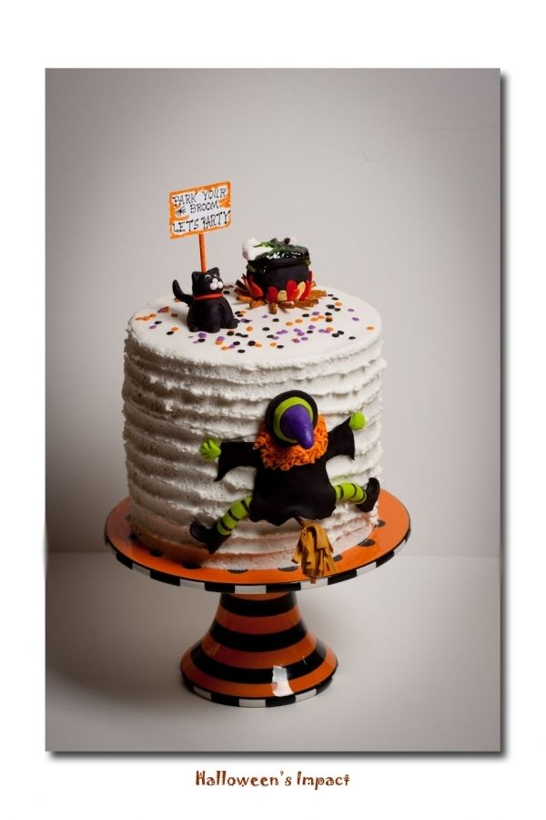 Halloween Birthday Cake Holiday Confection Ideas Pinterest - halloween birthday cake ideas