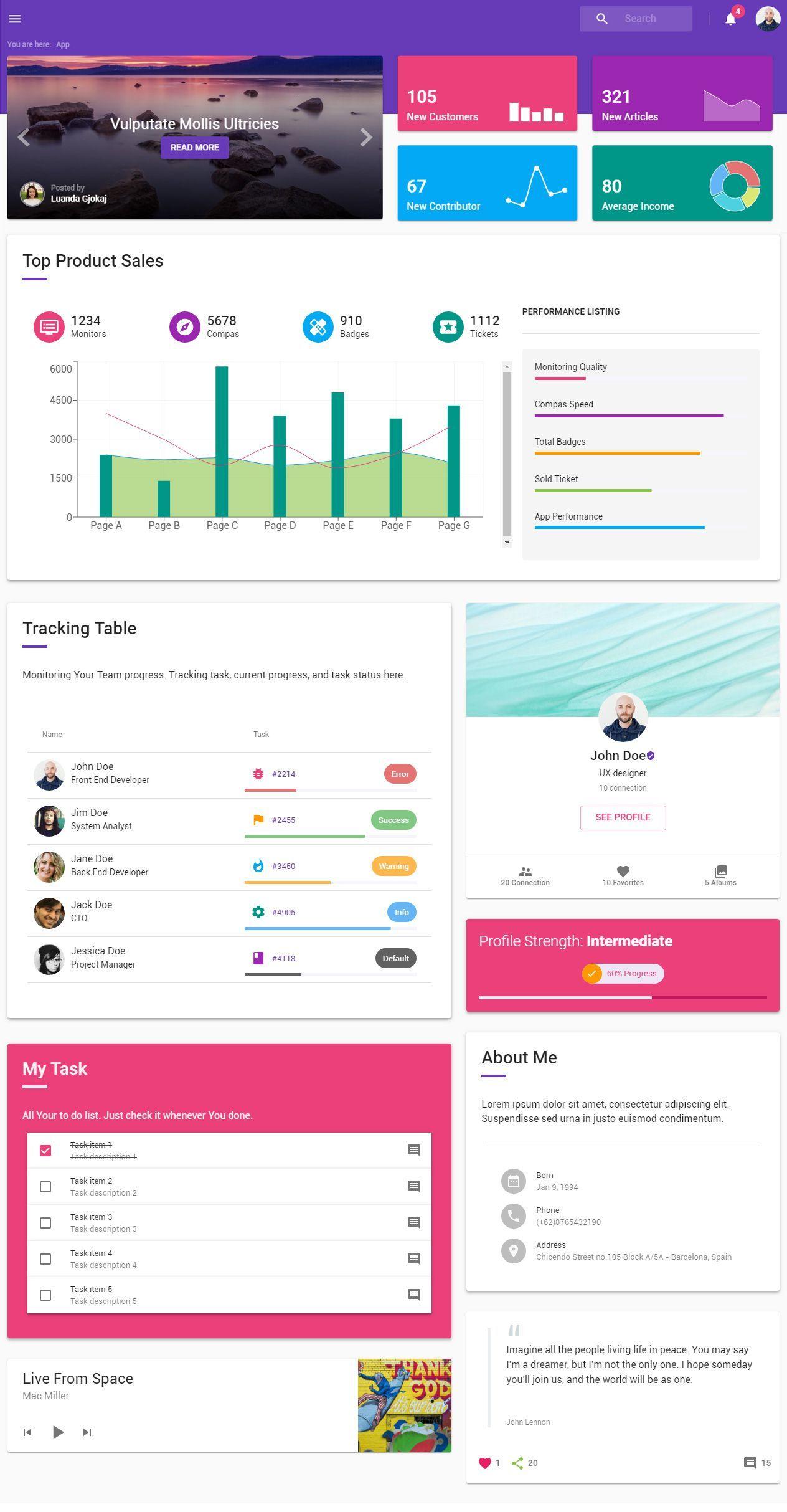 Boss Ultimate In 2021 Material Design Google Material Design Responsive Theme