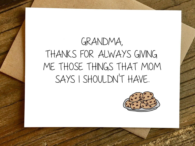 Motherus day card for grandma grandma card grandma birthday