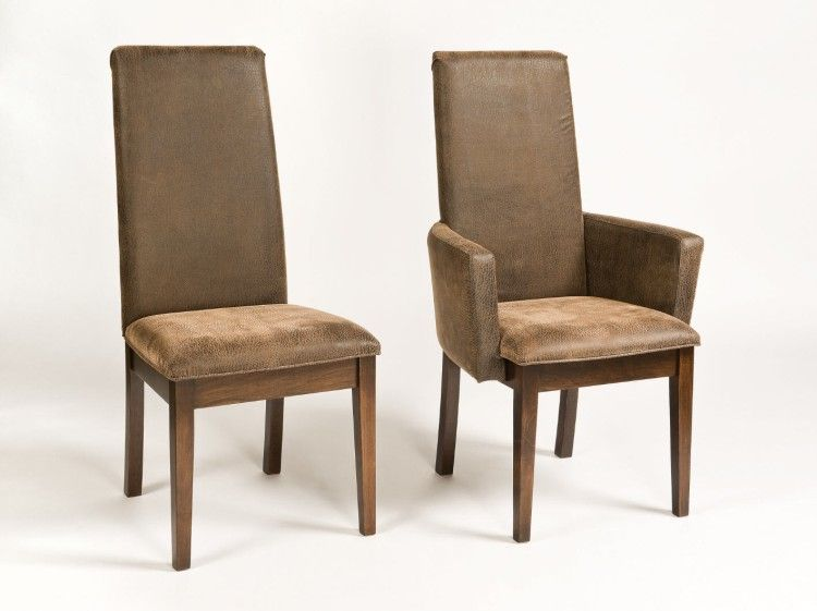 the bradbury upholstered parsons dining chair blends seamlessly with your dining room decor style these solid wood dining chairs with the wood