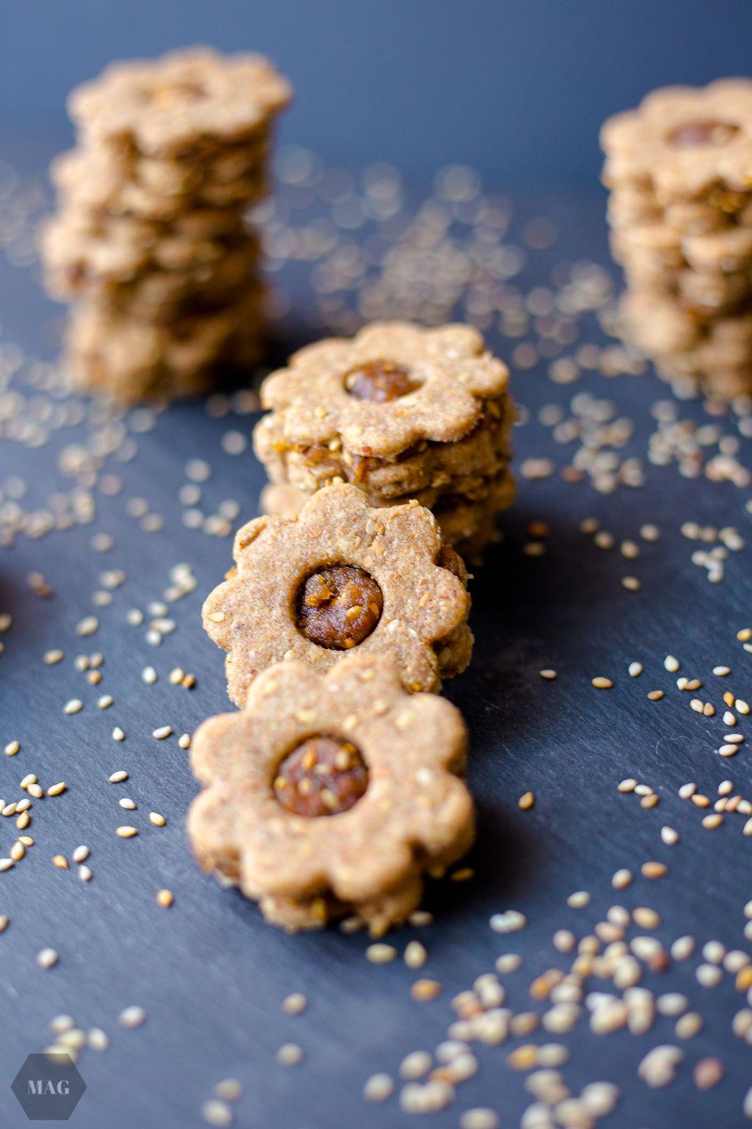 Orientalische Dattel-Sesam-Kekse | Mehr als Grünzeug