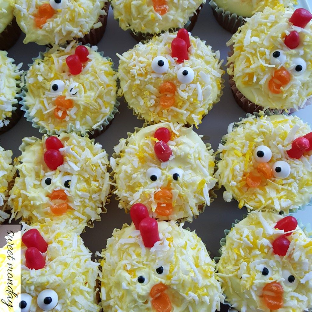 Farm Animal Cupcakes, Farm Birthday