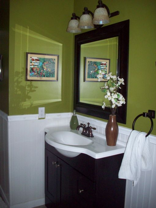Information About Rate My Space With Images Green Bathroom