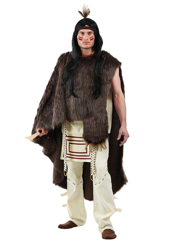 fun costumes mens deluxe native chief mens costume: amazon.ca