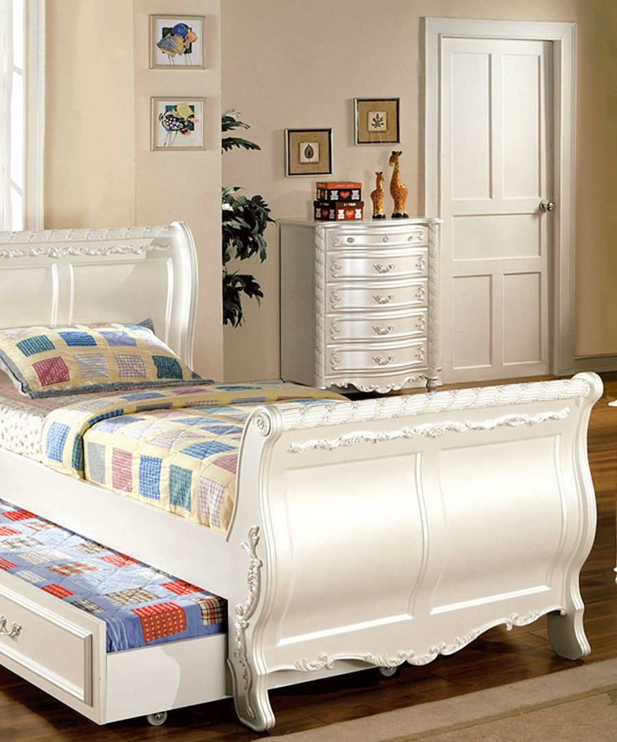 Look at this Four-Piece Fairy-Tale Bedroom Set on #zulily today!
